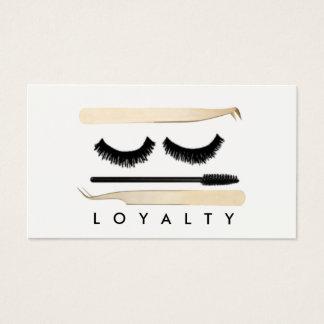 LASHLIFE de Kaart van de loyaliteit Visitekaartjes