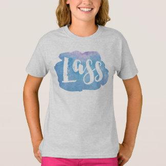 Lass, het Schotse, Noordelijke Engelse Overhemd T Shirt