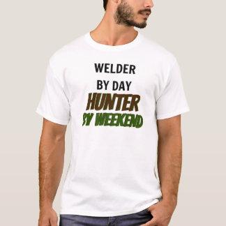 Lasser door de Jager van de Dag door Weekend T Shirt