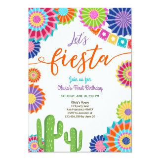 Laten we Cactus van de Verjaardag van de Kaart
