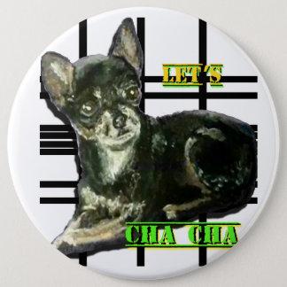 Laten we de Knoop van Cha Cha Ronde Button 6,0 Cm
