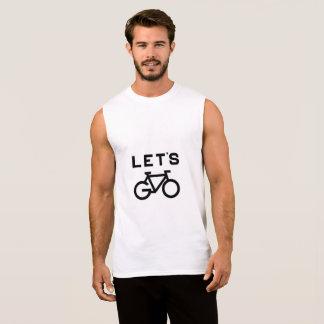 Laten we fiets t shirt