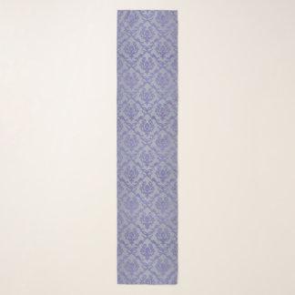 Lavendel en de Grijze BloemenSjaal van de Chiffon Sjaal
