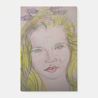 lavendel meisje post-it® notes