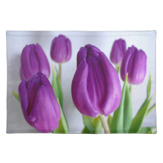 Lavendel-paarse Tulpen placemats