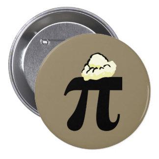 Lawijze van pi à ronde button 7,6 cm