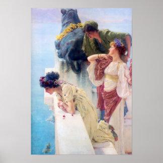 Lawrence Alma Tadema Coign van VoordeelPoster Poster