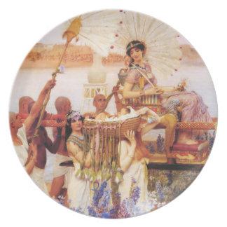 Lawrence Alma Tadema Het Vinden van Mozes Bord