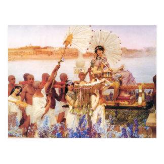 Lawrence Alma Tadema Het Vinden van Mozes Briefkaart