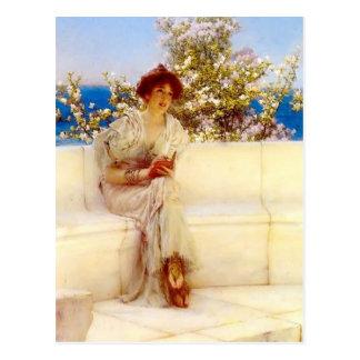 Lawrence Tadema- het Jaar s bij de Lente Briefkaart