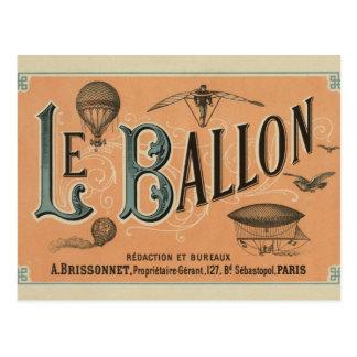 Le Ballon Rédaction et Diensten Briefkaart