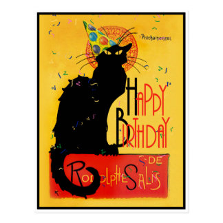 Le Chat Noir - de Gelukkige Groeten van de Briefkaart