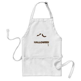 Leder-blik Halloween 1 Schort