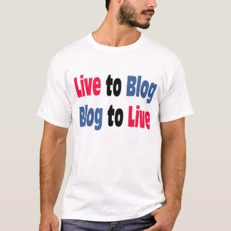 Leef aan T-shirt Blog