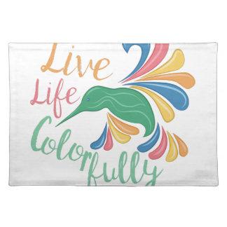Leef Colorfully Onderlegger