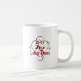 Leef de Dans van Salsa van de Liefde Koffiemok