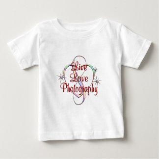 Leef de Fotografie van de Liefde Baby T Shirts
