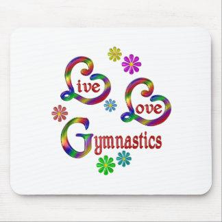 Leef de Gymnastiek van de Liefde Muismat