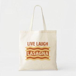Leef de Lasagna's van de Lach Draagtas