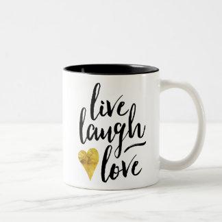 Leef de Mok van de Koffie van de Liefde van de