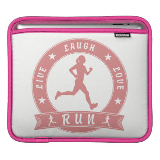 Leef de vrouwelijke (roze) cirkel van de LOOPPAS Beschermhoes Voor iPad