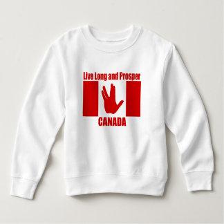 Leef het Lange Sweatshirt van de Vacht van de