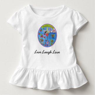 Leef het overhemdsontwerp van de Liefde van de Kinder Shirts
