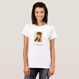 Leef het Rode Overhemd van de Liefde van de Lach T Shirt