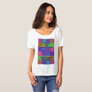 Leef in Harmonie met de Aarde van de Moeder · Word T Shirt