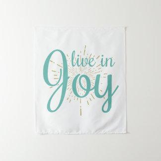Leef in Vreugde | Tapijtwerk Wandkleed