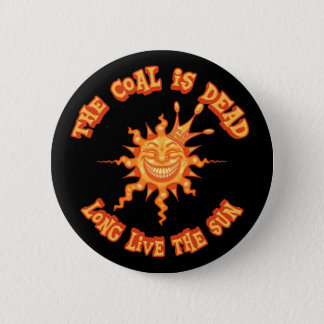 Leef lang de Zon Ronde Button 5,7 Cm