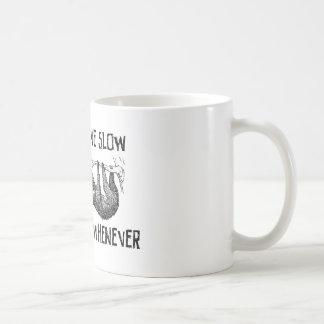 Leef Langzaam, Matrijs wanneer Koffiemok