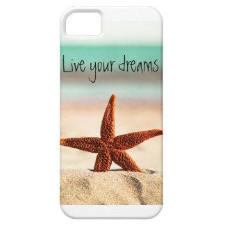 Leef uw dromen in de zomer barely there iPhone 5 hoesje