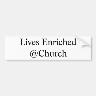 Leeft Verrijkte @Church sticker