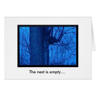 Leeg Nest/hier voor u de Kaart van de Nota