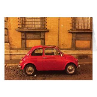 Leeg Wenskaart - Italië Fiat 500