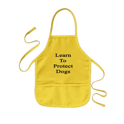Leer om Honden te beschermen Schort