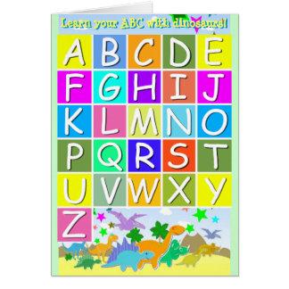 Leer Uw ABC met het Alfabet van de Brieven A-Z van Kaart