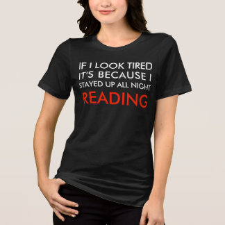 Lees de hele nacht t shirt