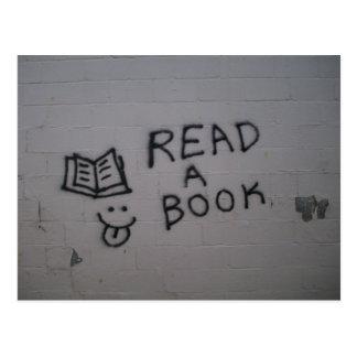 Lees een Boek Wenskaart
