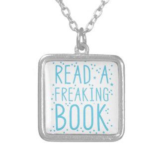 lees een freakinboek zilver vergulden ketting
