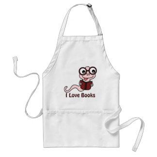 Lees een Maand van het Boek: Ik houd van Boeken Standaard Schort