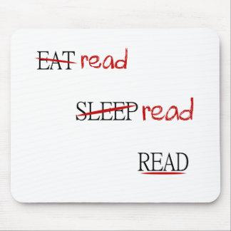 Lees gelezen gelezen muismat