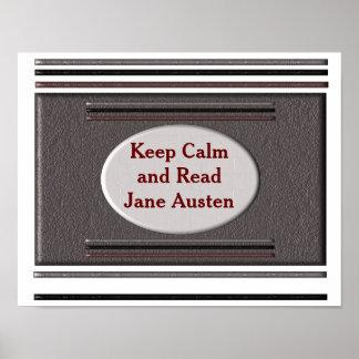 Lees Jane Austen - poster