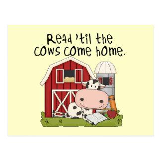 Lees 'til de Koeien naar huis komen Briefkaart