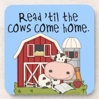 Lees 'til de Koeien naar huis komen Drankjes Onderzetter