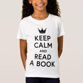 Leesgraag houd Rust en lees een Boek T Shirt