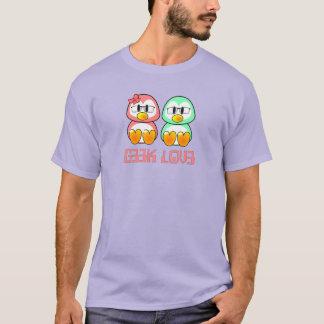 Leet spreekt Geek Valentijn T Shirt