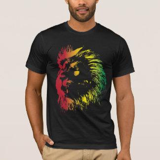 Leeuw 2 van Rasta T Shirt