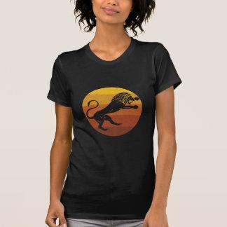 Leeuw - Afrikaanse Retro T Shirt